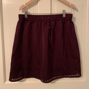 JCrew Eyelit skirt- new with tags!